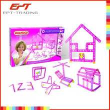 Hot selling kids plastic construction set toys construction toys for adults and kids