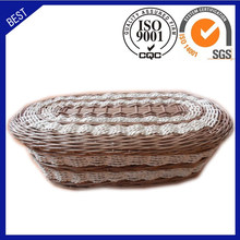 wholesale western style Cremation cheap willow baby caskets