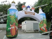 Rectangular inflatable arch / inflatable arch / advertising