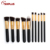 wholesale custom logo makeup brushes/10 pcs pro make up brush