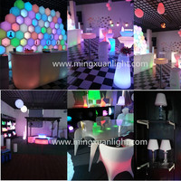Rechargeable Led Lounge Furniture For Bar Set
