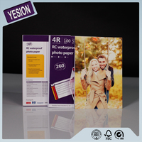 Yesion Professional Manufacturer RC Glossy Photo Paper, Waterproof Inkjet Printing RC Photo Paper