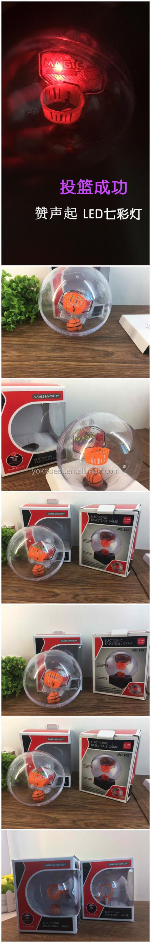 UCHOME Hot Electronic Mini Handheld Basketball/Rock Ball Handheld Toy Basketball Machines