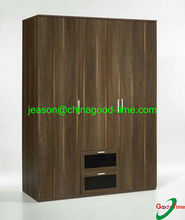 modern designer almirah wooden wardrobe with drawers
