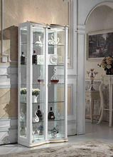 French Style White Decorating Ideas Designs Two Door Wholesale Curio Cabinets