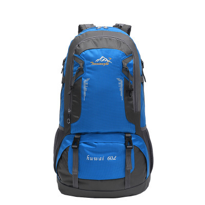 Wholesale customized new Mountaineering bag 60L hiking bagpack Outdoor