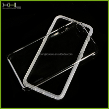 TPU Bumper And Clear PC Phone Case For iphone 6