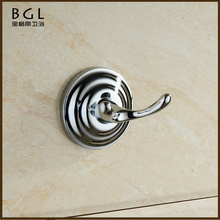 bathroom shower design wall mount zine alloy chrome surface unique products to sell coat hook