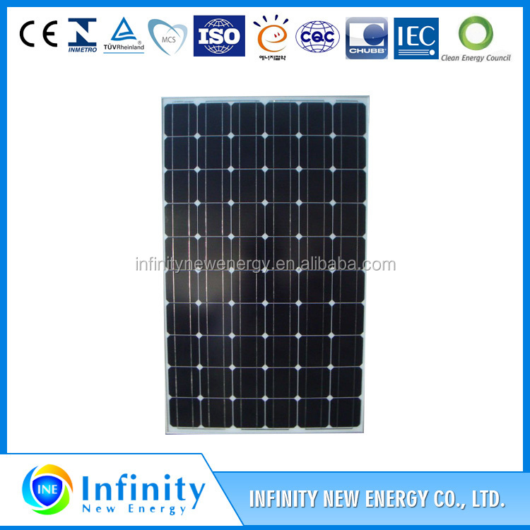 2016 Chinese factory price High efficency low price 255W solar power system for sale