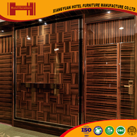 XY quantity production pleasant modern style CCEL CE teak wood interior wall decorative panel
