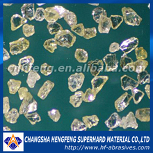 irregular shape industrial synthetic rvg diamond raw manufacturing materials abrasives