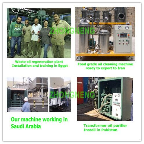 Used Lubricating Oil Recycling Machine, Lube Oil Filtering Machine