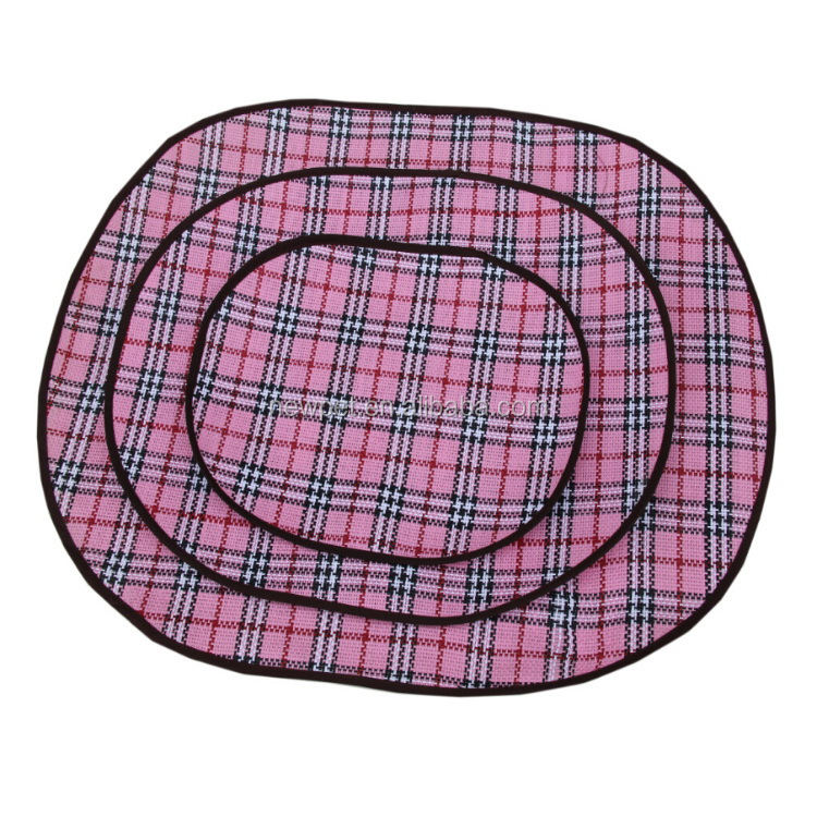 Direct factory direct sale dog cool mat/summer sleeping bed stylish pink pet bed for dogs