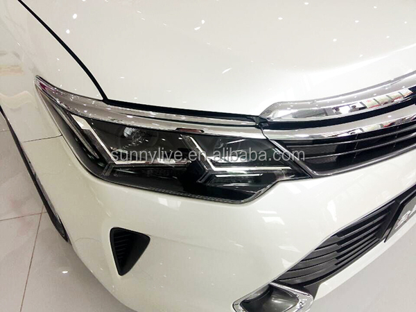 2015 Year TOYOTA Camry LED Head Lamps LED Headlights Bi Xenon Projector Lens PW