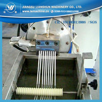 pet flakes palletizing line/ pet granules machine/PET granulating machine