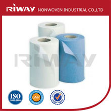 Absorbent Lint Free Woodpulp Nonwoven for Industrial Wipe
