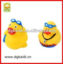 Hot sale christmas gift yellow baby duck for decoration
