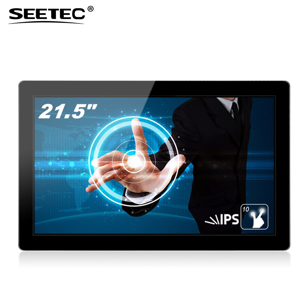 22 inch open frame lcd video display hdmi vga input touch screen tft panel for advertising marketing