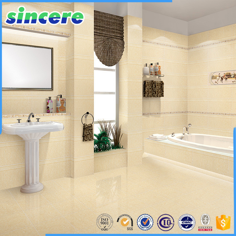 In stock ceramic bathroom tile ceramic wall tile buy for How to install ceramic tile in bathroom wall