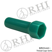 UL94V0 green pipe product insulation sleeve pipe end screw cap
