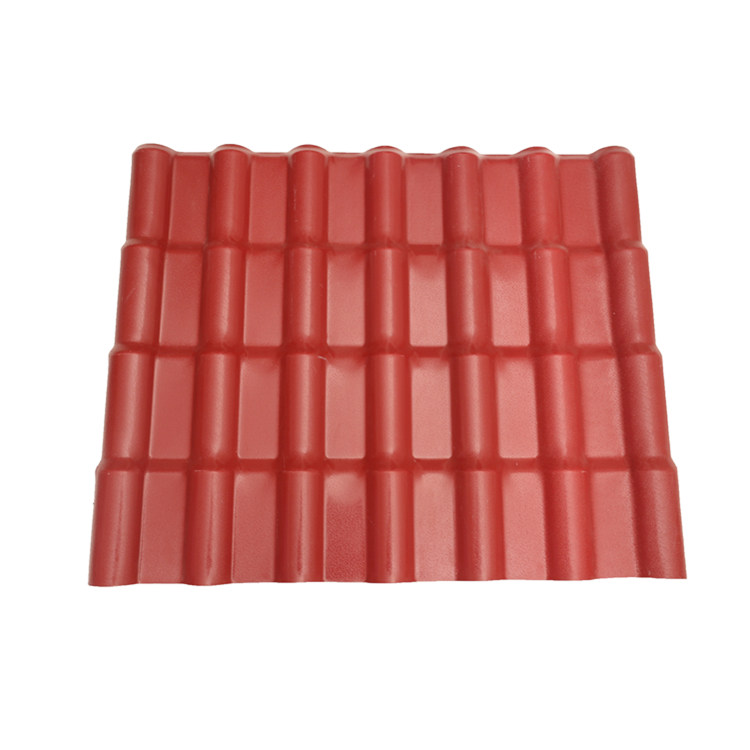 Easy installation no deformation pvc tile roof