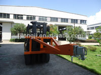 Agriculture attachment wheel loader forklift crane jib with 3 inner jibs