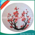 "16"" Red Blossom Flowers Japanese Paper Lanterns"