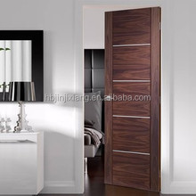Modern Design Oak Flush Apartment Door