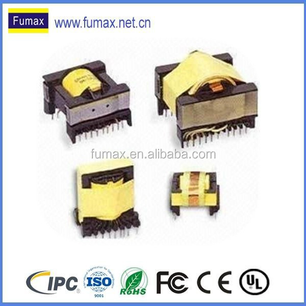 Small Single Phase PCB Mounting epoxy resin potted transformer / potted transformer pcb assembly