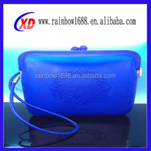 2014 latest design silicone bag for women