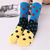 Hit Color Polka Dot Socks Casual Men Summer Style Candy Colored Dress Sock Men odd sox