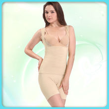 Ladies nude sexy women slim lift corset bodysuit