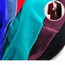 high quality cotton velvet jacket fabric for wholesale