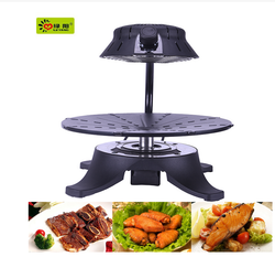 Japanese style 3d infrared smokeless bbq grill / beef ribs in roaster oven
