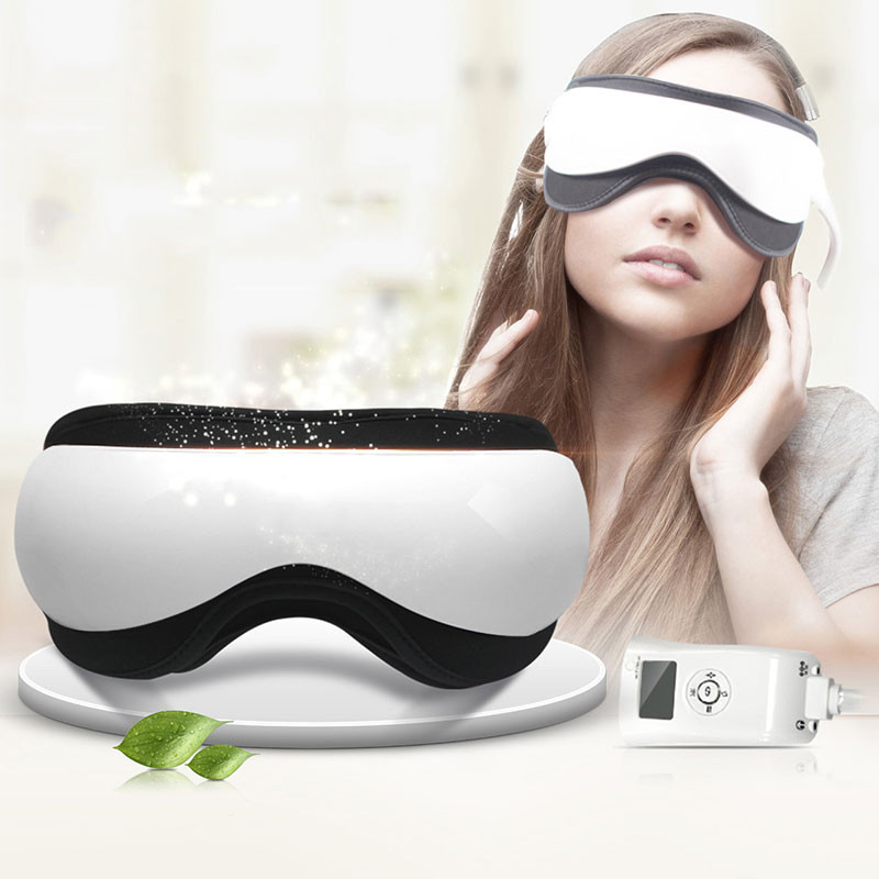 Eye Mask 4 in 1 Air Pressure Infrared Heating Vibration Music Eye Care Massager from Chinese Supplier ESINO