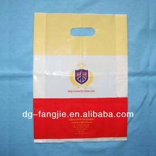High quality soft loop handle plastic bag for shopping