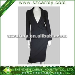 30% Wool & 70% Polyester 1 Botton Fashionable Business OL Women's Suits