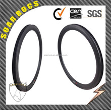 SoarRocs high TG resin 23mm width U shape 25mm carbon wheels clincher 50mm