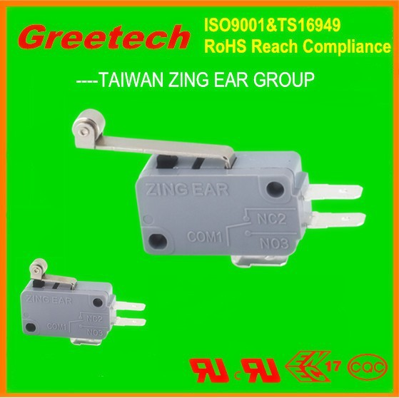 ul, cul, enec, cqc certificates micro switch, greetech zing ear types of micro switches for power tool switch trigger switch 250
