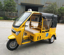 200cc Bajaj Style 3 Wheels Adult Motorcycle Tuk Tuk 9 Seater Taxi For Sale