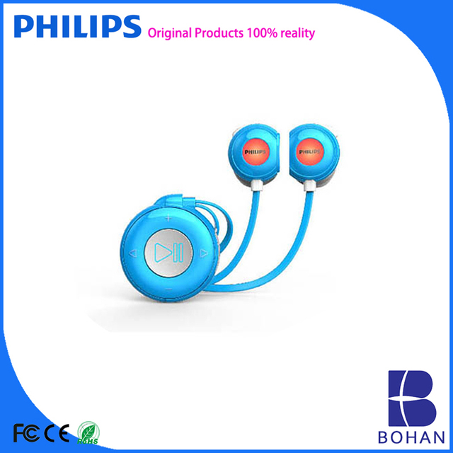 Philips USB 2.0 8GB Magnetic Induction Switch with Flashing LED Lights Sports Mp3 Audio Books Download