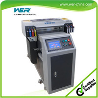 smart cellphone printing machine a2 WER-EH4880UV for any type any color phone cases, phone case printer