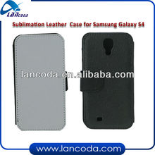 sublimation cell phone leather cover for samsung s4