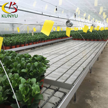 Hot sale hydroponic system ebb and flow greenhouse seed bed with tray