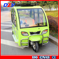 NEW electric pedicab rickshaw /800W adult big wheel tricycle popular in china