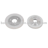 custom plastic POM/Nylon/ABS/PP injection tooth gear