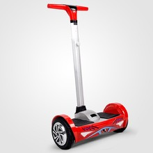 RUNSCOOTERS 8 INCH Electric Vehicle with Handle Self Balancing Hoverboard Mobility Scooter E-Scooter with Ce RoHS