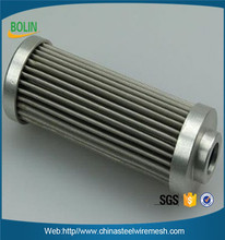 Stainless Steel Pleated Filter Element Gas filter cartridge