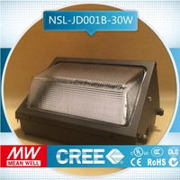 sample free of charge 30w dlc photocell outdoor led lights driver vary installation methods led mini wall pack cool white