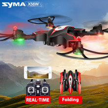 2017 Newest SYMA X56 X56W Control Drone Helicopter Drones Aircraft Quadcopter Foldable Hover RC Dron with Wifi FPV HD Camera
